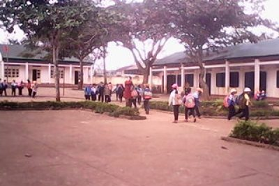 Tập huấn CNTT tại trường THCS thị trấn Phước An